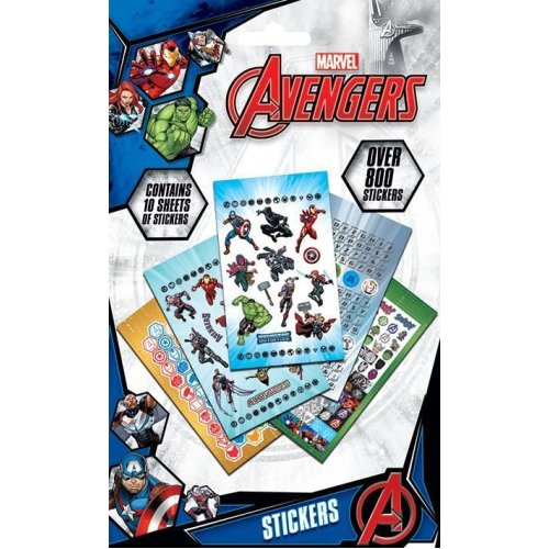 Avengers 800 Sticker Set