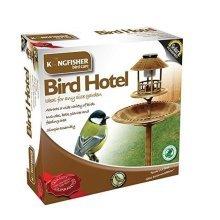 Kingfisher Bronze Copper Effect Solar Powered Bird Hotel
