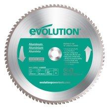 Evolution Aluminium Carbide-Tipped Blade, 355 mm