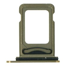 For iPhone 12 Pro - iPhone 12 Pro Max - SIM Card Tray - Dual - Gold
