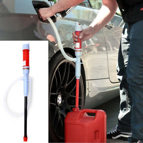 Electric Liquid Fuel Syphon Pump Automatic Transfer Gas Battery Supply