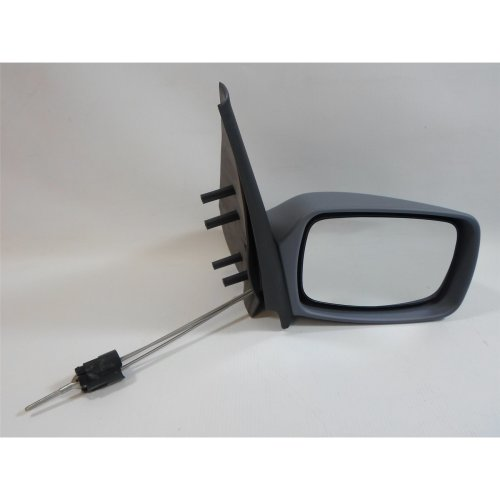 Mazda 121 3/1996-2000 Cable Adjust Wing Door Mirror Primed Cover Drivers Side
