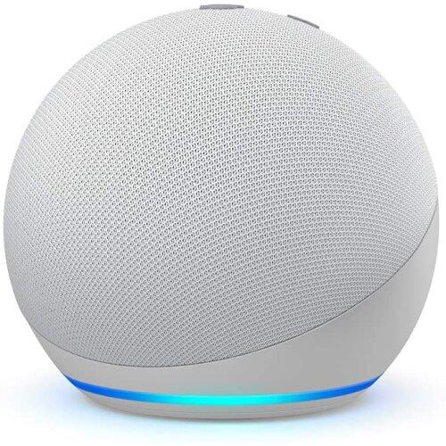(Glacier White) Amazon Echo Dot (4th Gen 2020) - Smart Speaker with Alexa