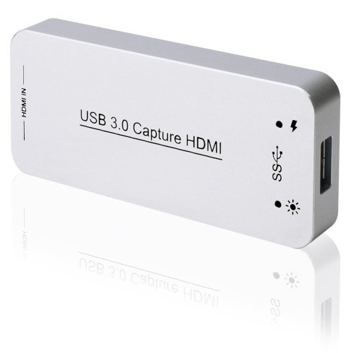 DIGITNOW! USB 3.0 HDMI Game Capture Card,Full HD 1080p 60FPS Video To Live Streaming Recorder Device, Drive-Free Compatible with Linux/Mac OS/Windows 10/7/XP