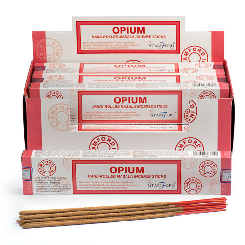 Stamford Masala Incense Sticks - Opium - Set of 12