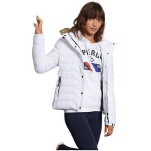 Superdry Classic Faux Fur Fuji Jacket White