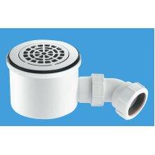 McAlpine 90mm High-Flow Shower Trap - Flush fitting  ST90CPB-P-HP2