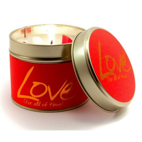 Lily Flame Love Candle | Sandalwood & Patchouli Candle