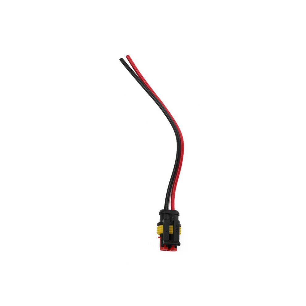 Superseal Amp//Tyco 2 Way Pre-Wired Waterproof 12V Electrical Connectors Pins 10