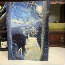 Moon Bear Greetings card by Hannah Willow
