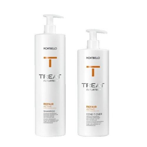 Montibello Treat Repair Shampoo 1000ml + 750ml Conditioner