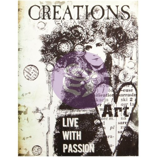 """Prima Art Daily Planner Insert 6""""X7.7""""-Creation W/36 Pages"""