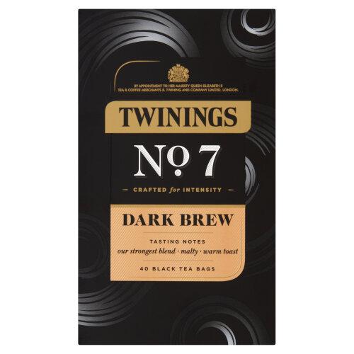 Twinings - Dark Brew No 7 - 40 Tea Bags