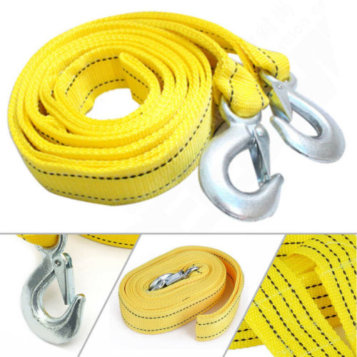5 T 4m Trailer Towing Rope With Heavy Road Recovery Hook Compartment