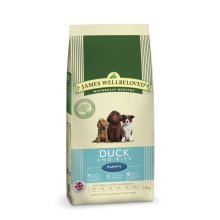 Jwb Puppy Dog Duck & Rice Kibble 15kg