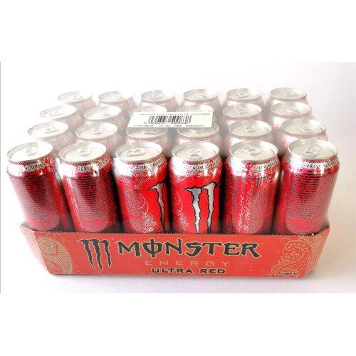 Monster Ultra Red 24 x 500ml