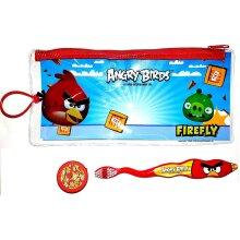 Angry Birds - Dental Travel Kit - Toothbrush & Case