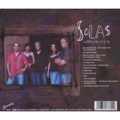 Solas - Waiting for an Echo [CD]