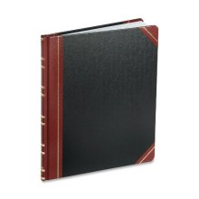 Boorum Pease 16021215F Record Ruled Book Black Cover 150 Pages 10 18 x 12 14