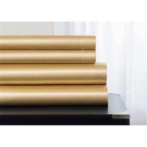 Sobel Westex Majestic Elegance Satin Sheet Set  Gold - Full