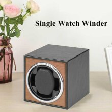 Single Watch Winder with Ultra-quiet Motor Shaker Suitable For Automatic Watches