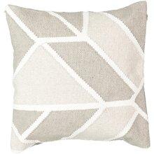 Beautyrest 16424018X018LTg Social call 18-Inch by 18-Inch Decorative Pillow, Light grey