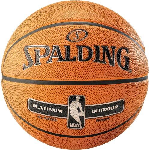Spalding NBA Platinum Outdoor Basketball 7 Tan (2020)