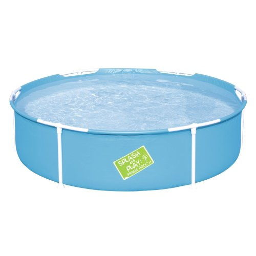 Bestway 56283-BGLX16GL02 5ft x 15-inch My First Frame Pool