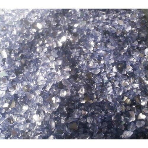 (Purple, 250g) Coloured Mirror Granules