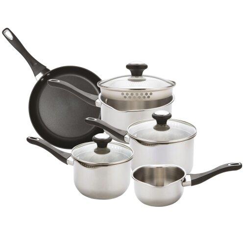 Prestige Strain Away 5 Piece Cookware Set