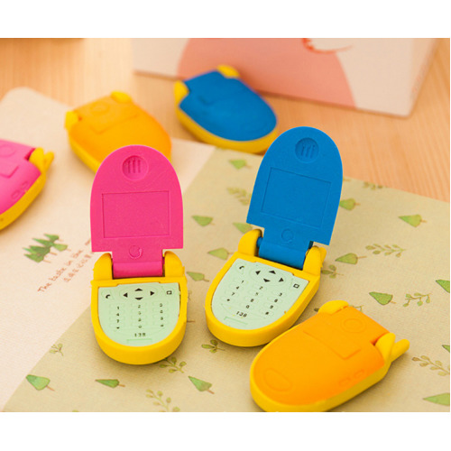 Mobile Phone Cute Puzzle Erasers Novelty Fun Kids Rubbers Party Gift Bag Fillers Assorted 1 Pc