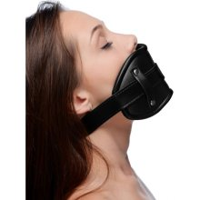 Cock Head Silicone Mouth Gag  BDSM Whips and Ball Gags - Strict