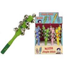 Wooden Jingle Stick Bell Stick Musical Instrument