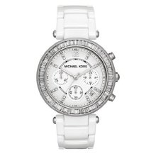Michael Kors Parker Ladie's Watch¦Chronograph Dial¦Stainless Steel Band¦MK5848