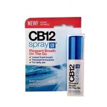 CB12 Mint-Menthol Mouth Spray - 15ml   Breath Freshening Spray