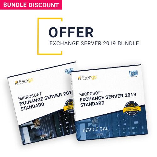 Special Bundle - Microsoft Exchange Server 2019 Standard incl. 10 Devices CALs