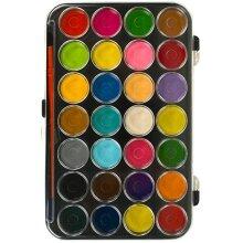 Watercolour Paint Palette With 28 Colours | Watercolour Paints Set