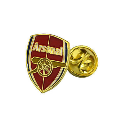 Arsenal Unisex New Crest Pin Badge, Multi-colour - Fc Badge Official Football -  arsenal fc badge official football club product crest metal