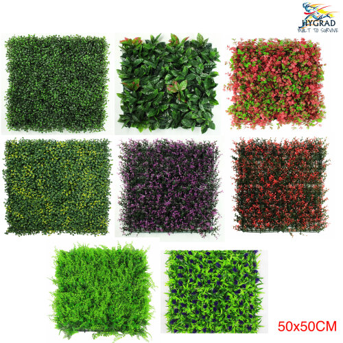 Artificial Boxwood Topiary Green Artifical Grass Screen Fencing Hedge Panels UK