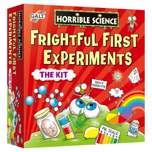Galt Horrible Science Frightful First Experiments Kit