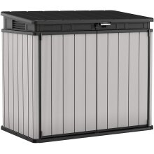 Keter Store It Out Premier XL Outdoor Plastic Garden Storage Shed Grey