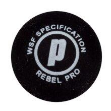 Prince Rage Squash Ball, Single Pro Double Yellow Dot