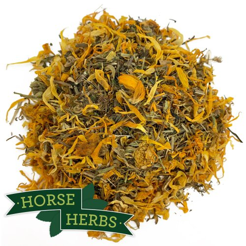 Horse Herbs Cleavers & Marigold 1kg - Horse Feed Supplement, Equine, Clivers