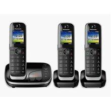 Panasonic KX-TGJ423EB Cordless Phone - Triple Handsets