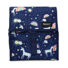 Packit Freezable and Foldable Lunch Cool Bag Unicorn Sky 2202