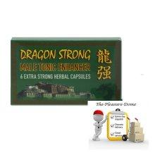 DRAGON STRONG Natural 450mg Capsules Natural Male Enhancement Pills