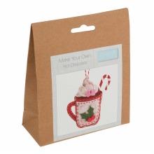 Felt Decoration Kit: Christmas Hot Chocolate