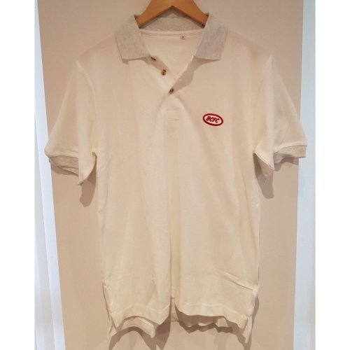"BRISTOL CITY FC WHITE POLO SHIRT FOOTBALL SIZE S 38"" 100% COTTON"