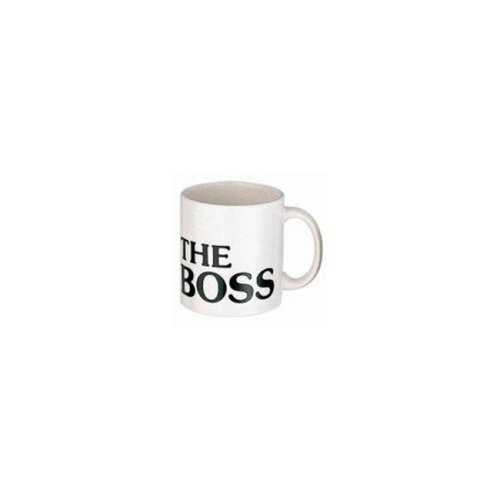 Waechtersbach 01 S 6MG 4082 The Boss Mugs, White - Set of 6