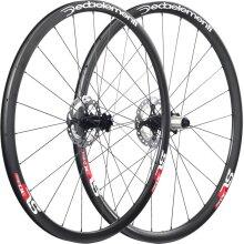 Deda Elementi: SL30 Carbon BT Disc Team Wheels -  Black - Ca